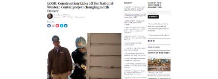 National Western Groundbreaking JKS