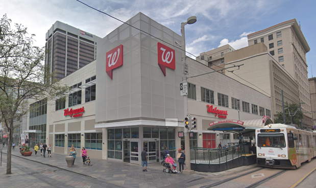 Walgreens and Dress Barn Renovations
